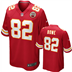 Kansas City Chiefs - D. Bowe #82 Home Jersey
