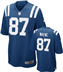 Indianapolis Colts - R.Wayne #87 Home Jersey