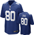 New York Giants - V. Cruz #80 Home Jersey