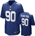 New York Giants - J. Pierre-Poul #90 Home Jersey