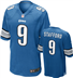 Detroit Lions - M. Stafford #9 Home Jersey