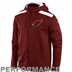 Arizona Cardinals - Nailhead Full-Zip Hoody