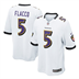 Baltimore Ravens - J. Flacco #5 Away Jersey