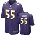 Baltimore Ravens - T. Suggs #55 Home Jersey