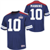 New York Giants - E. Manning #10 Hashmark Jersey