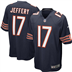 Chicago Bears - A. Jeffery #17 Home Jersey