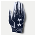 Under Armour 1304694 F6 Gloves Navy